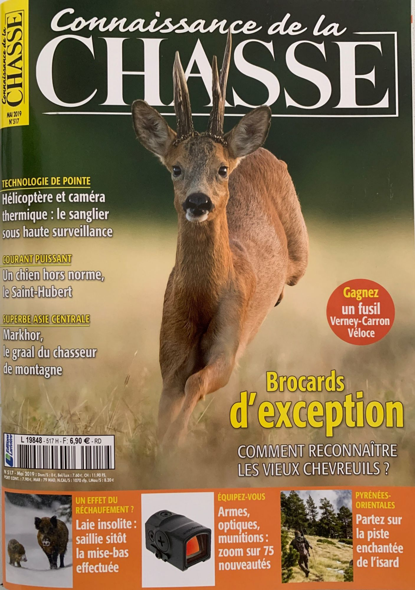 0 Connaisance de la chasse mai 2019 n 517