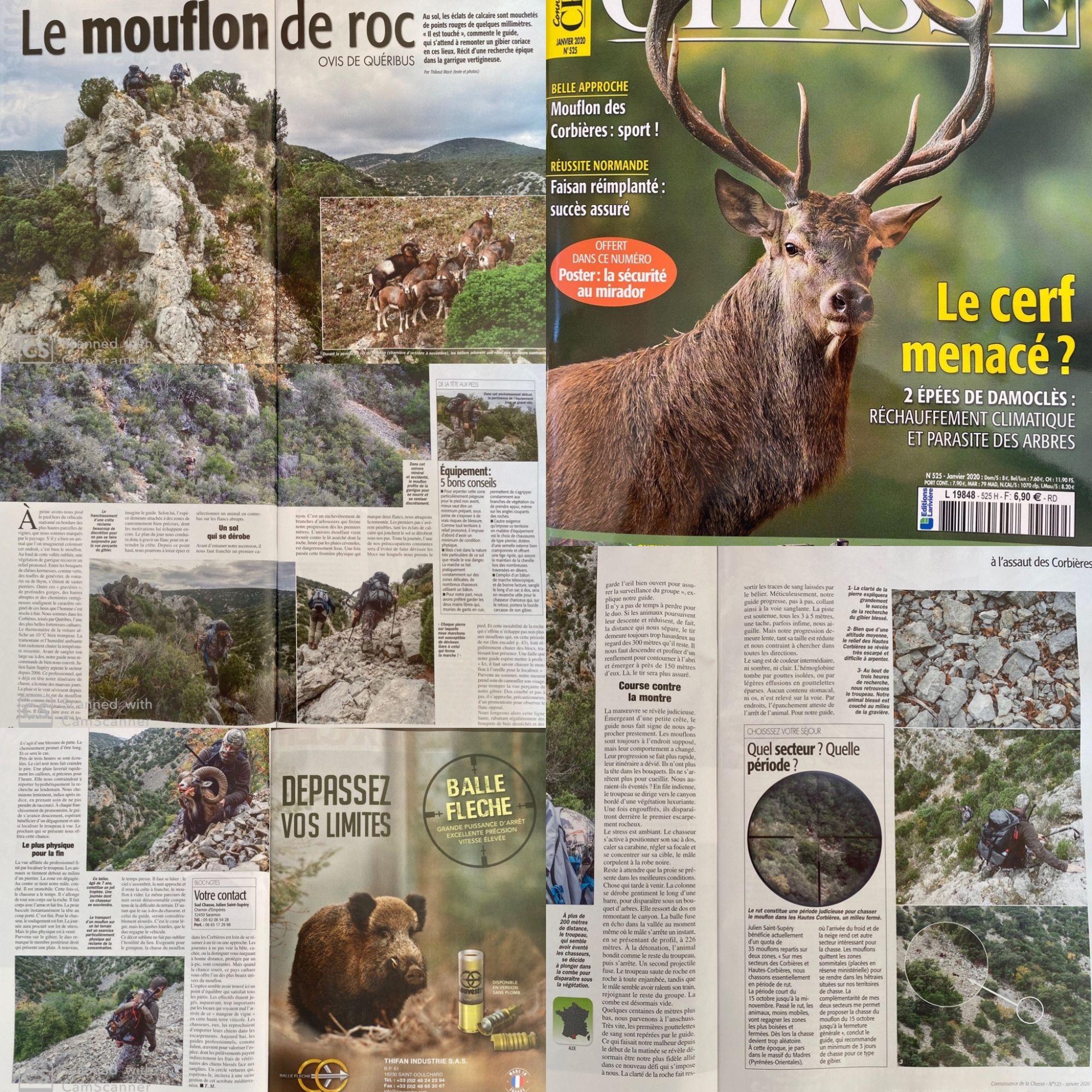 Connaisance de la chasse Janvier 2020 n525 1