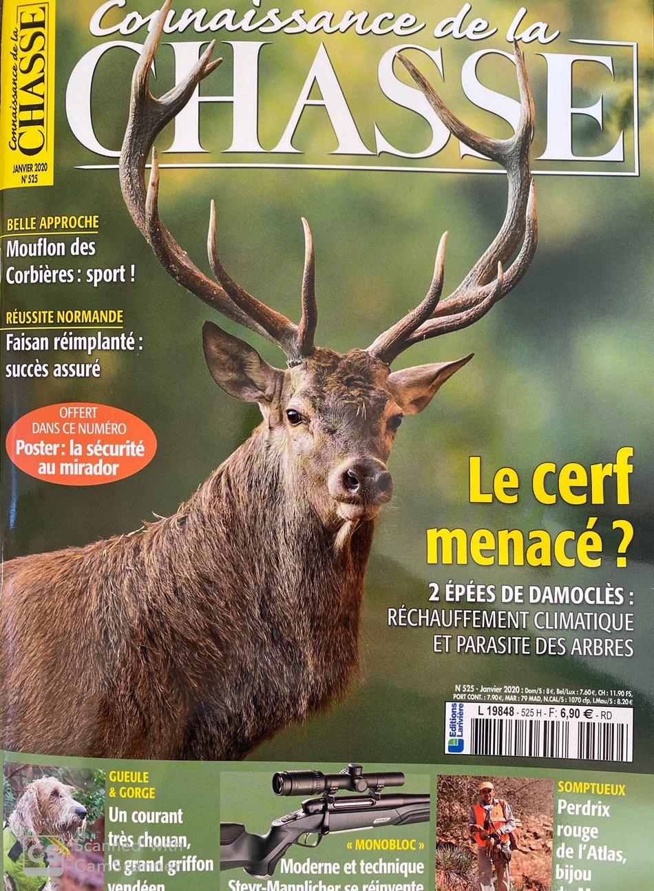 Connaisance de la chasse Janvier 2020 n525